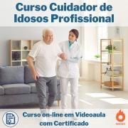 Curso on-line em videoaula Cuidador de Idosos Profissional com Certificado