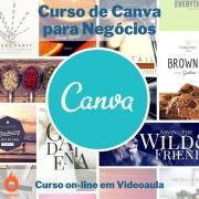 Curso on-line em videoaula de Canva para Negócios