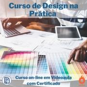 Curso on-line em videoaula de Design na Prática com Certificado