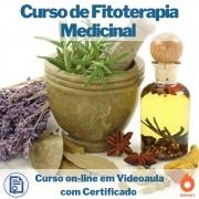Curso on-line em videoaula de Fitoterapia Medicinal com Certificado