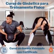 Curso on-line em videoaula de Ginástica para Treinamento Físico com Certificado