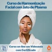 Curso on-line em videoaula de Harmonização Facial com Jato de Plasma com Certificado