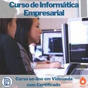 Curso on-line em videoaula de Informática Empresarial com Certificado