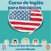 Curso on-line em videoaula de Inglês para Iniciantes com Certificado