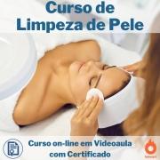 Curso on-line em videoaula de Limpeza de Pele com Certificado