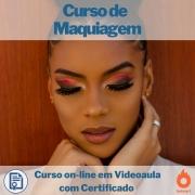 Curso on-line em videoaula de Maquiagem com Certificado
