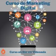 Curso on-line em videoaula de Marketing Digital