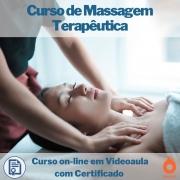 Curso on-line em videoaula de Massagem Terapêutica com Certificado