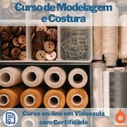 Cursos on-line em videoaula de Modelagem e Costura com Certificado