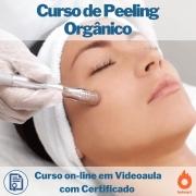 Curso on-line em videoaula de Peeling Orgânico com Certificado