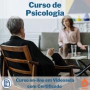 Curso on-line em videoaula de Psicologia com Certificado