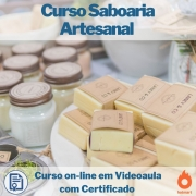 Curso on-line em videoaula de Saboaria Artesanal com Certificado