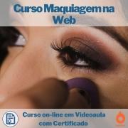 Curso on-line em videoaula Maquiagem na Web com Certificado