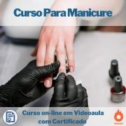 Curso on-line em videoaula Para Manicure com Certificado
