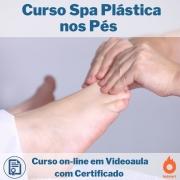 Curso on-line em videoaula Spa Plástica nos Pés com Certificado