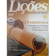 DVD Videoaula Lições da palavra de Deus - O Pentateuco - A revelação de Deus em forma de leis e mandamentos