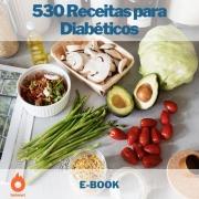 E-book 530 Receitas para Diabéticos