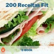 E-book com 200 Receitas Fit