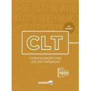 Livro CLT - Legislação Saraiva De Bolso - 13ª Edição - 2020