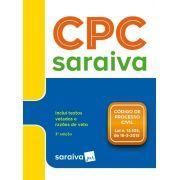 Livro Código De Processo Civil - Legislação Saraiva De Bolso