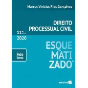 Livro Direito Processual Civil Esquematizado - 11ª Ed. 2020