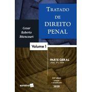 Livro Tratado De Direito Penal - Parte Geral - Vol. 1 - 26ª Ed. 2020