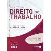 Livros Curso De Direito do Trabalho - 12ª Ed. 2020