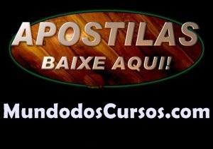 BAIXE AQUI A SUA APOSTILA GRÁTIS!! - Ensino médio / Ensino superior / Concursos / Informática / Instrumentos musicais / Idiomas / Profissionalizantes  - Mundo Dos Cursos