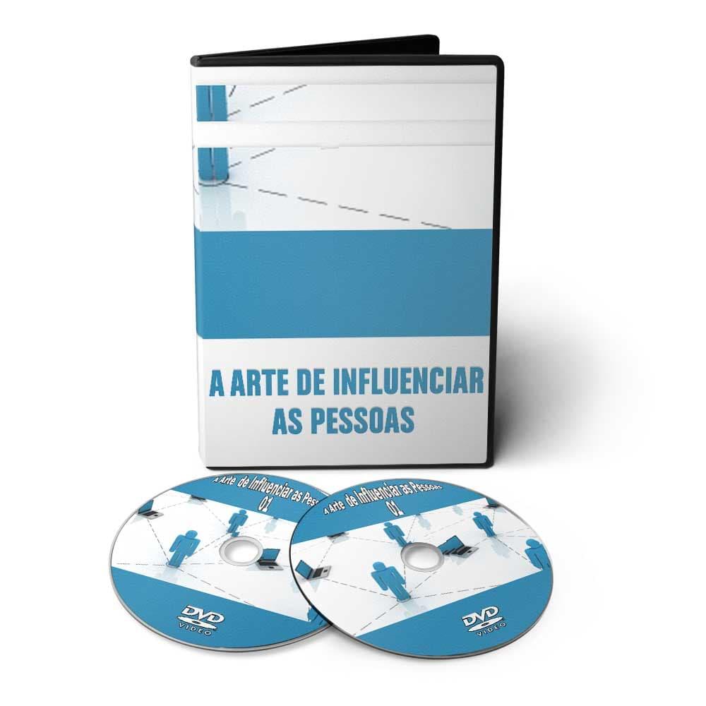 Curso: A Arte de Influenciar Pessoas em 02 DVDs Videoaula  - Aprova Cursos