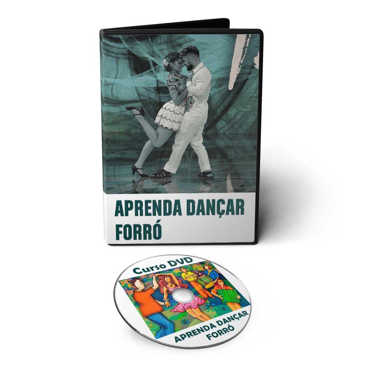 Curso aprenda a Dançar Forró em DVD Videoaula  - Aprova Cursos