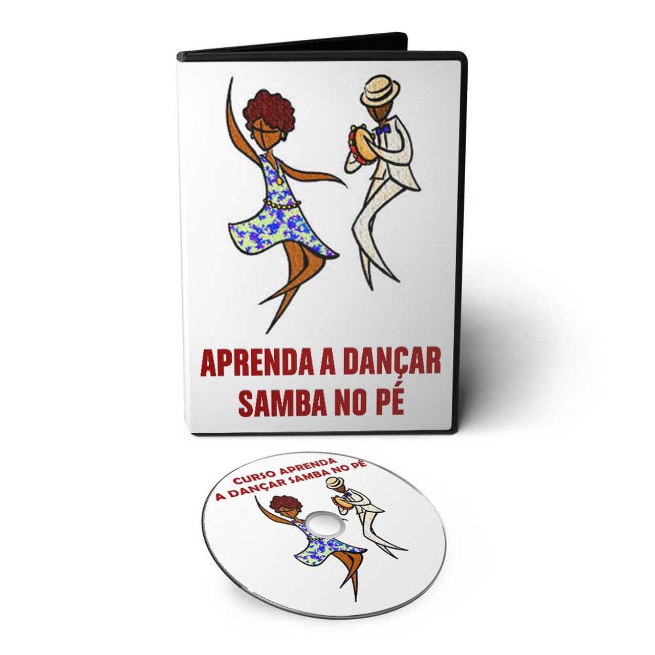 Curso aprenda a Dançar Samba no Pé em DVD Videoaula
