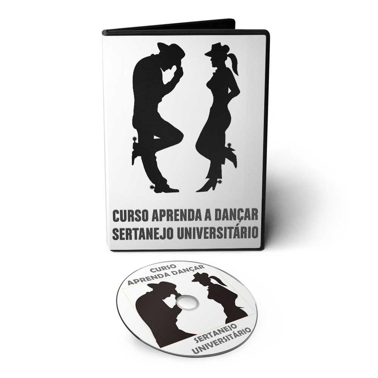 Curso aprenda a Dançar Sertanejo Universitário em DVD Videoaula