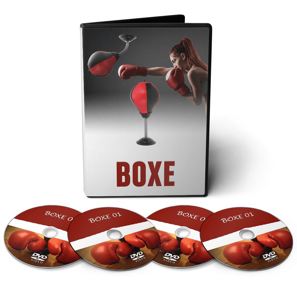 Curso Aprenda a Lutar Boxe - Várias Técnicas em 06 DVDs Videoaula  - Aprova Cursos