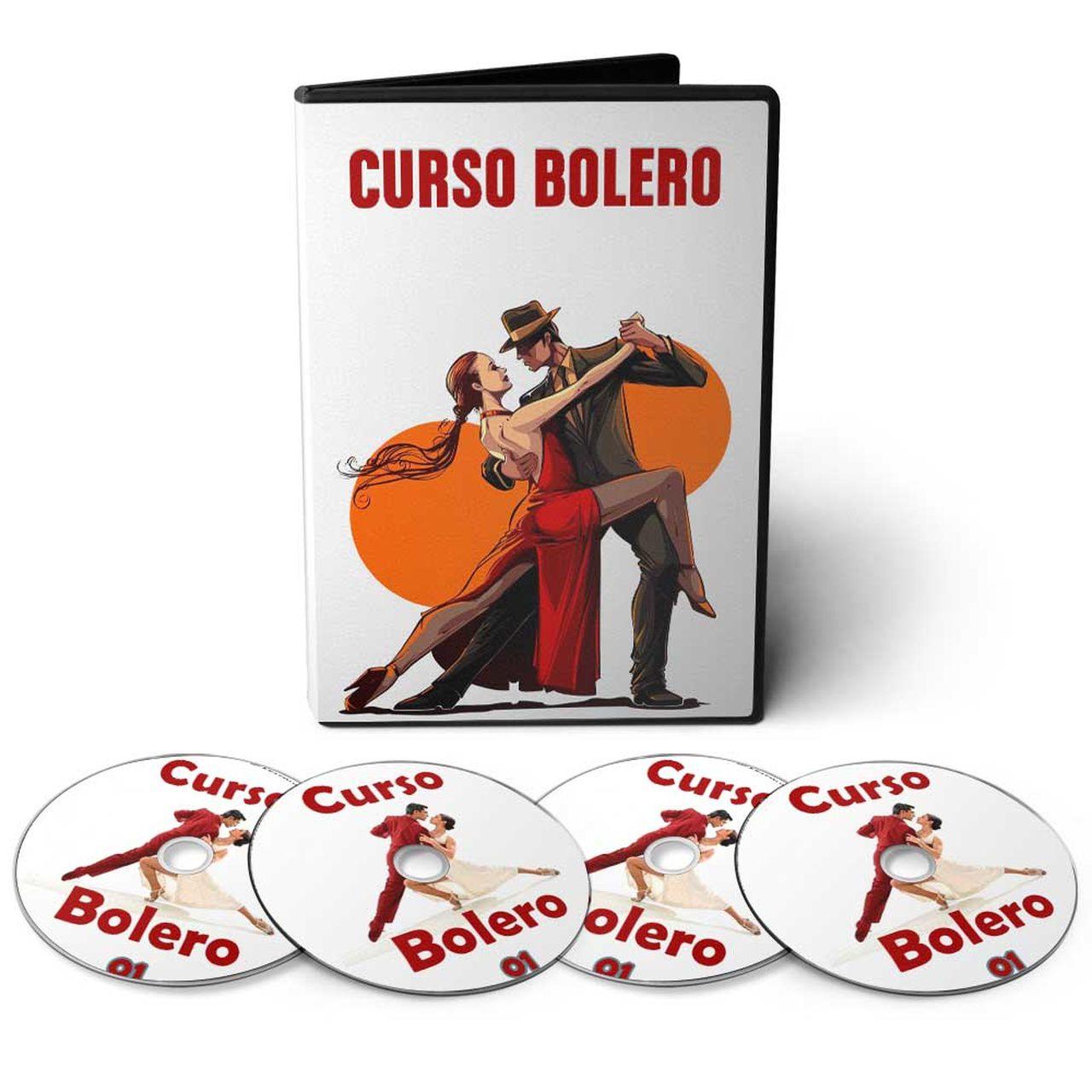 Curso aprenda Dançar Bolero em 04 DVDs Videoaula  - Aprova Cursos