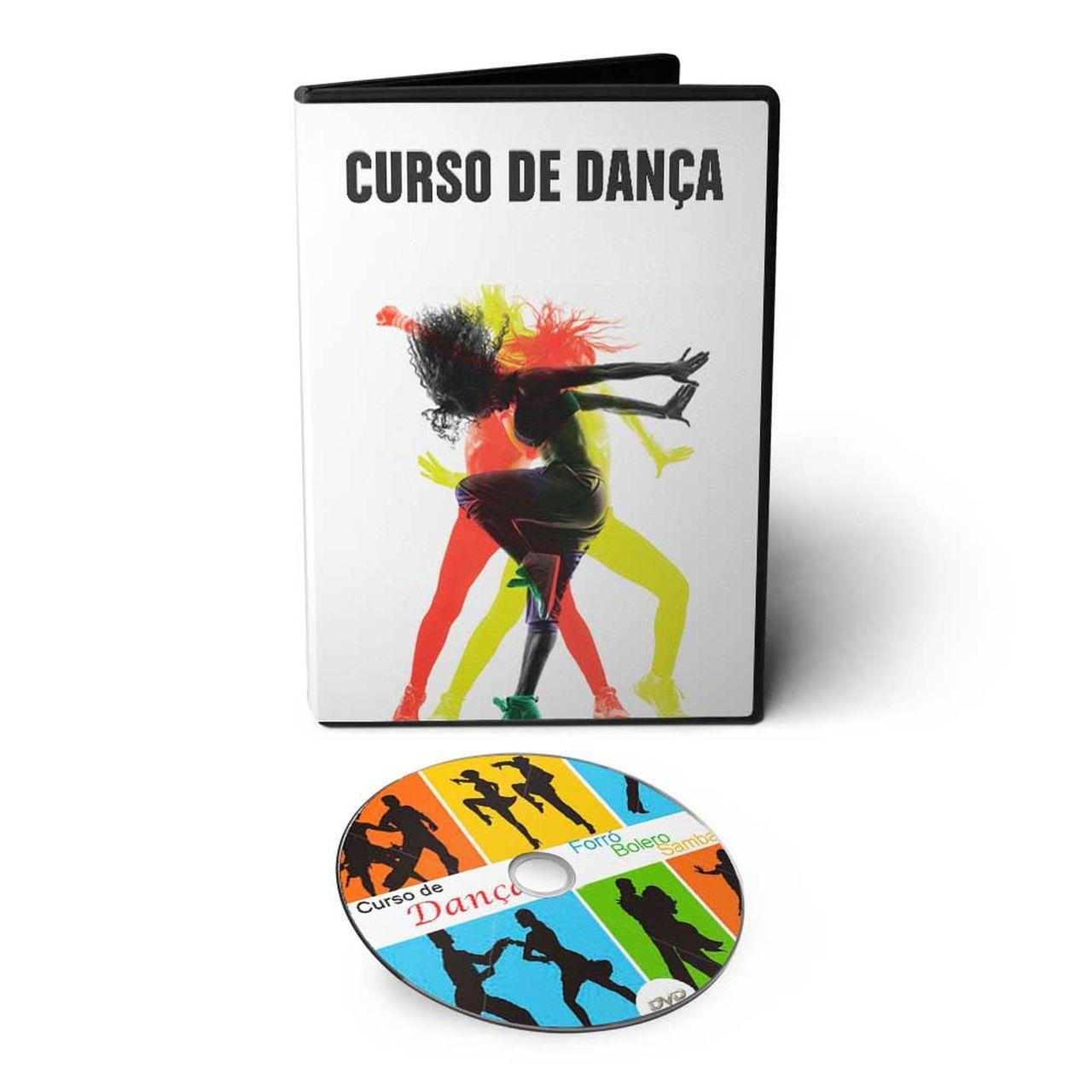 Curso Dança de Salão: Aprenda Dançar Forró, Samba no Pé, Bolero e Samba de Gafieira em DVD Videoaula