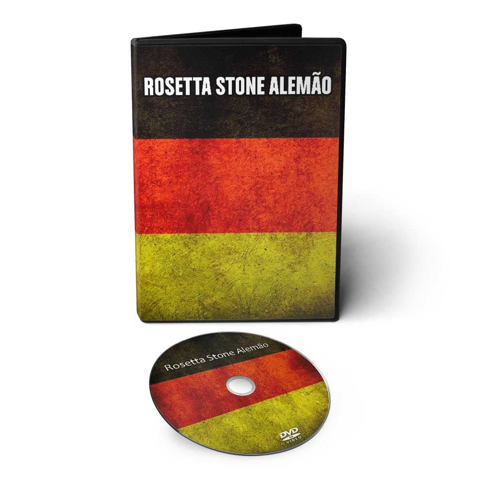 Curso de Alemão em 01 DVD Interativo