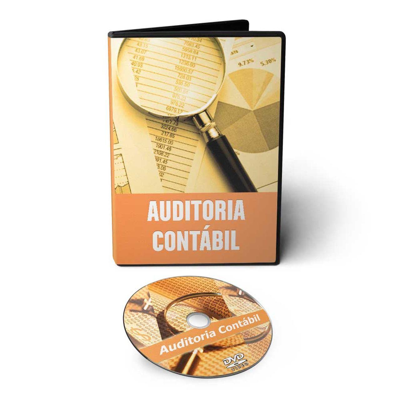 Curso de Auditoria Contábil em DVD Videoaula