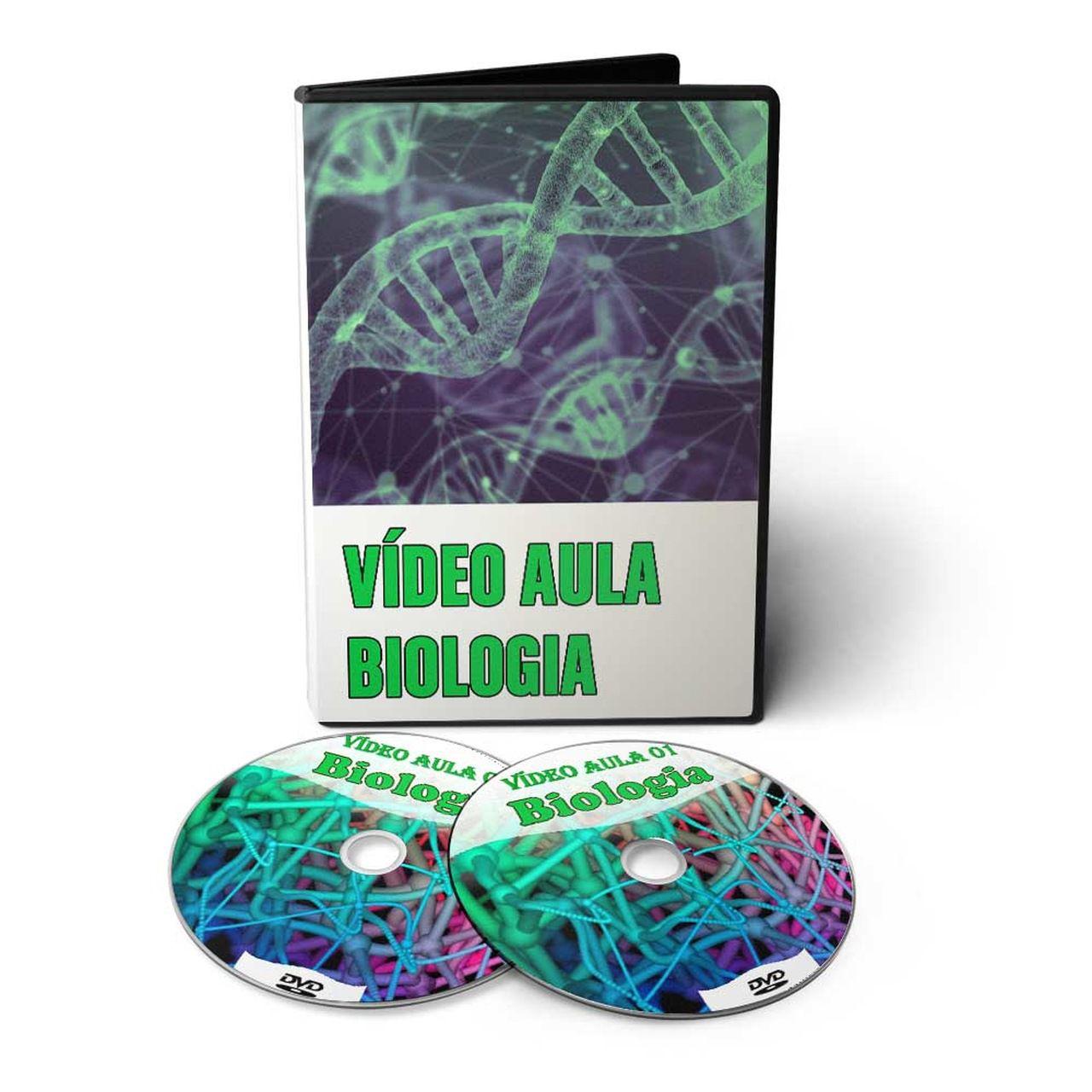 Curso de Biologia em 03 DVDs Videoaula   - Aprova Cursos
