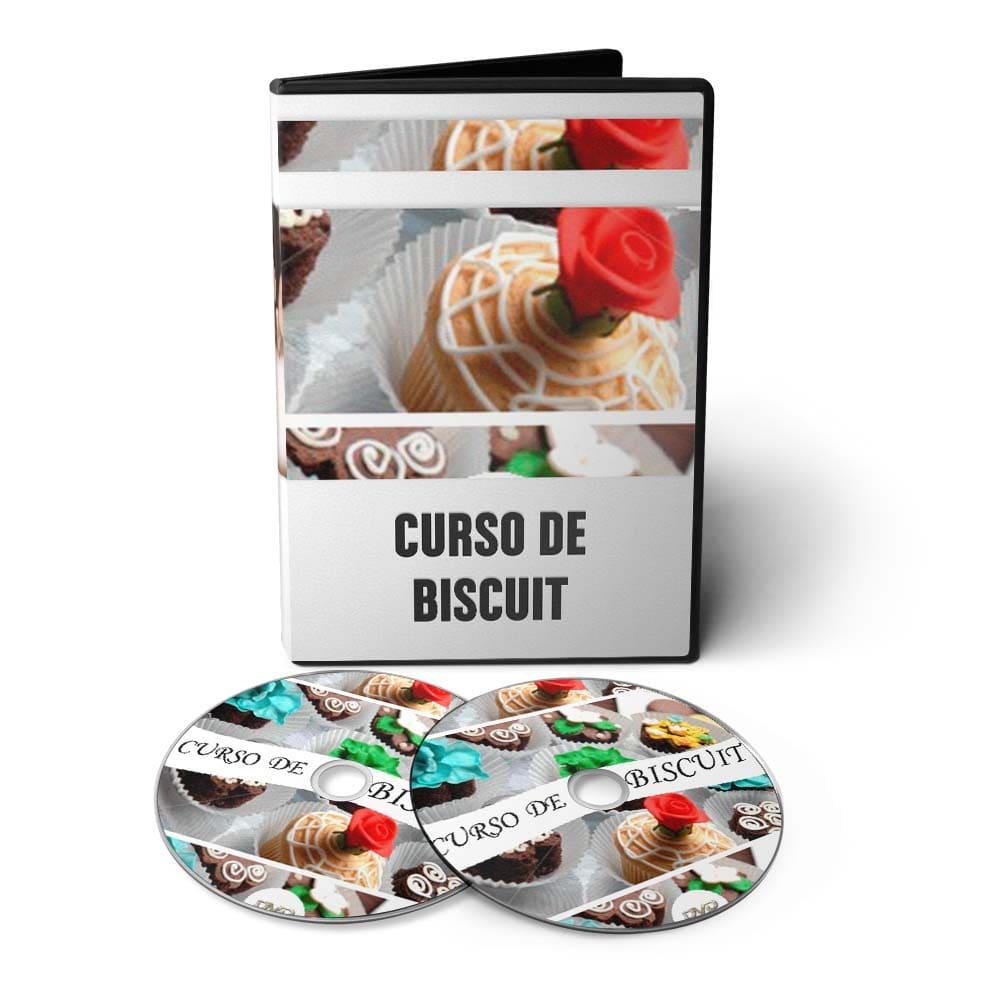 Curso de Biscuit - Como Fazer Personagens e Noivinhos em 03 DVDs Videoaula