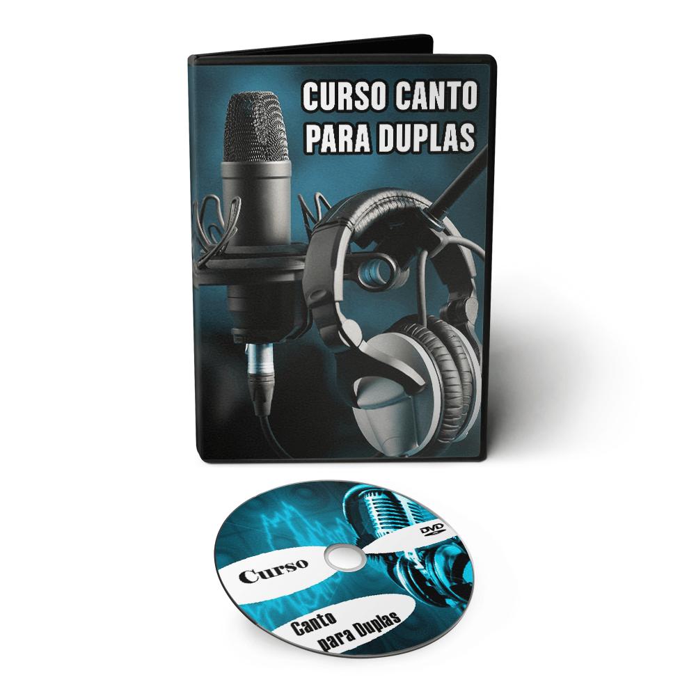 Curso de Canto em Duplas e Segunda Voz em DVD Videoaula