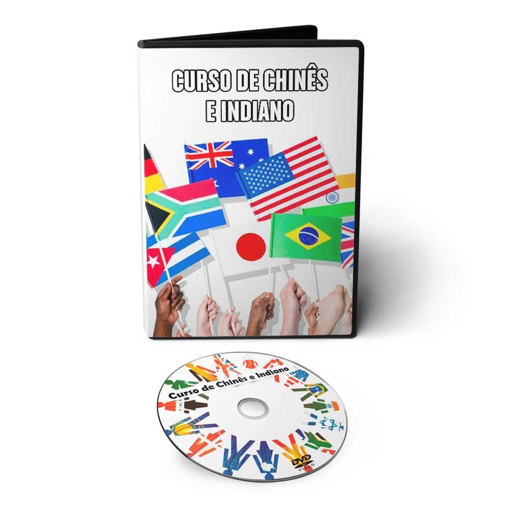 Curso de Chinês Mandarim e Indiano em 01 DVD Interativo
