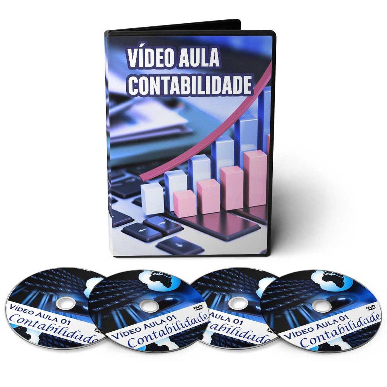 Curso de Contabilidade Básica em 08 DVDs Videoaula
