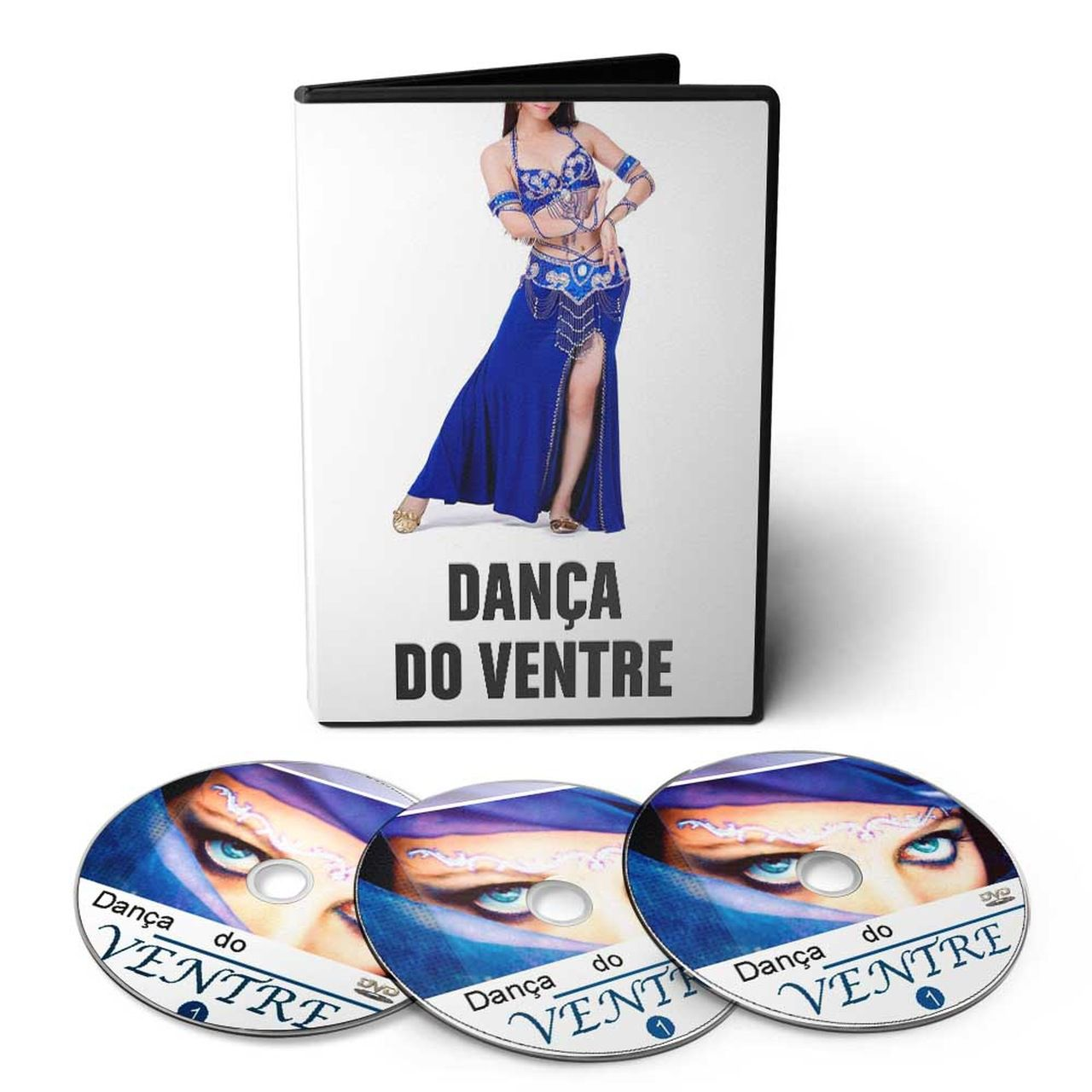 Curso de Dança do Ventre em 05 DVDs Videoaula + Músicas
