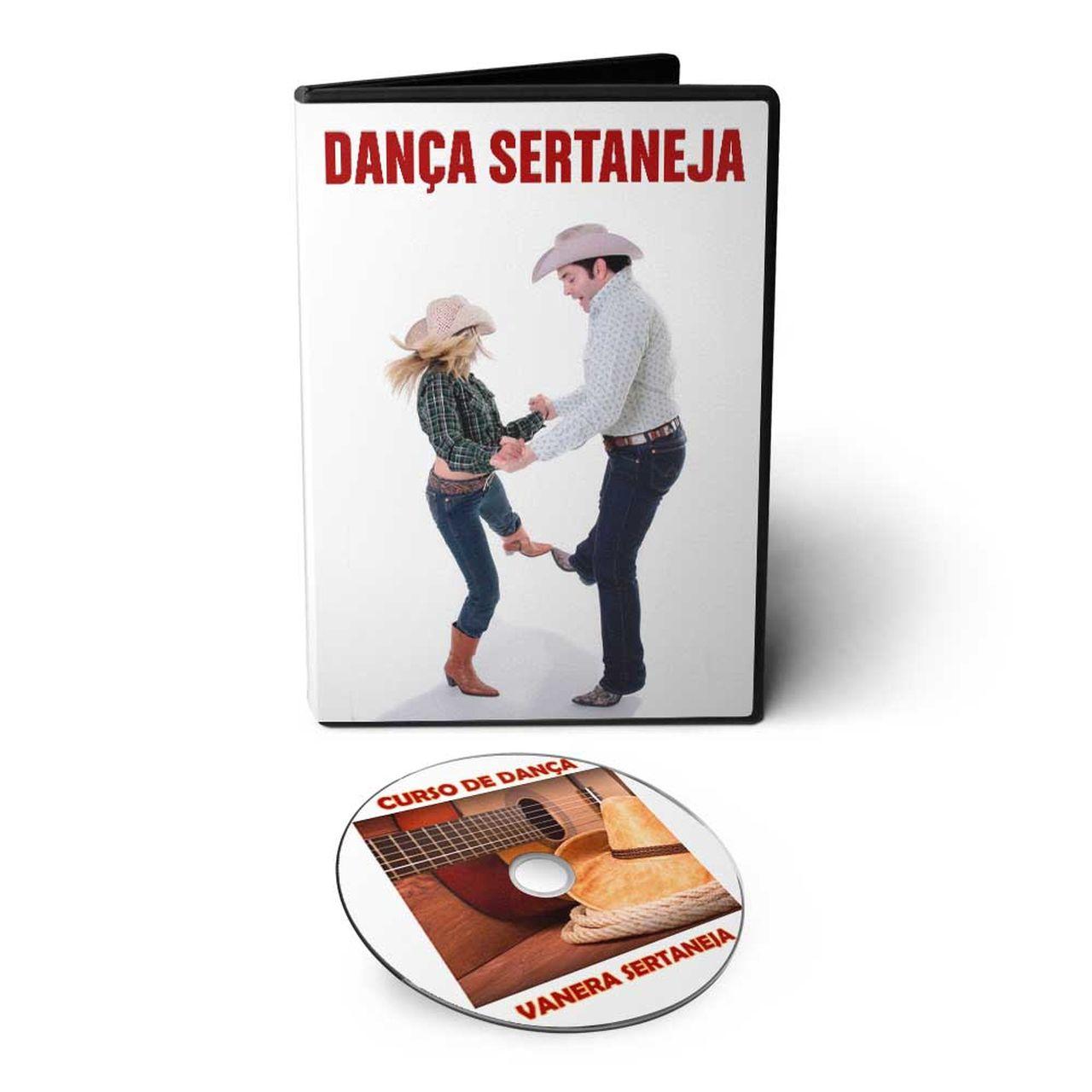 Curso de Dança Vanera Sertaneja em DVD Videoaula