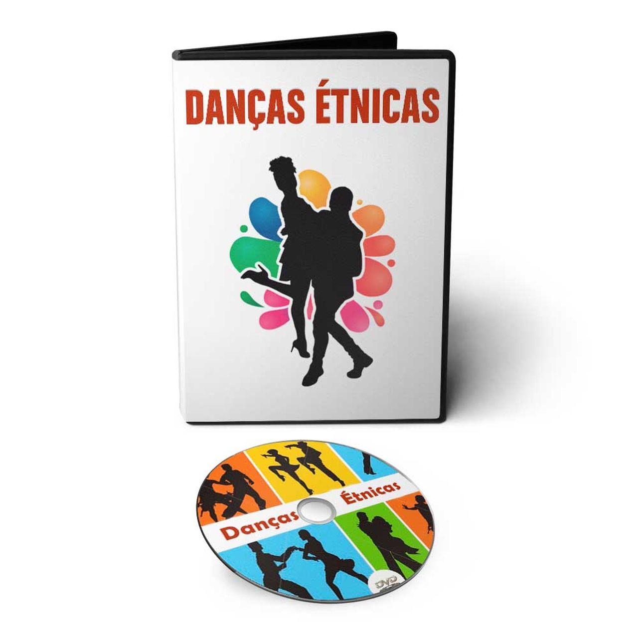 Curso de Danças Étnicas em DVD Videoaula  - Aprova Cursos