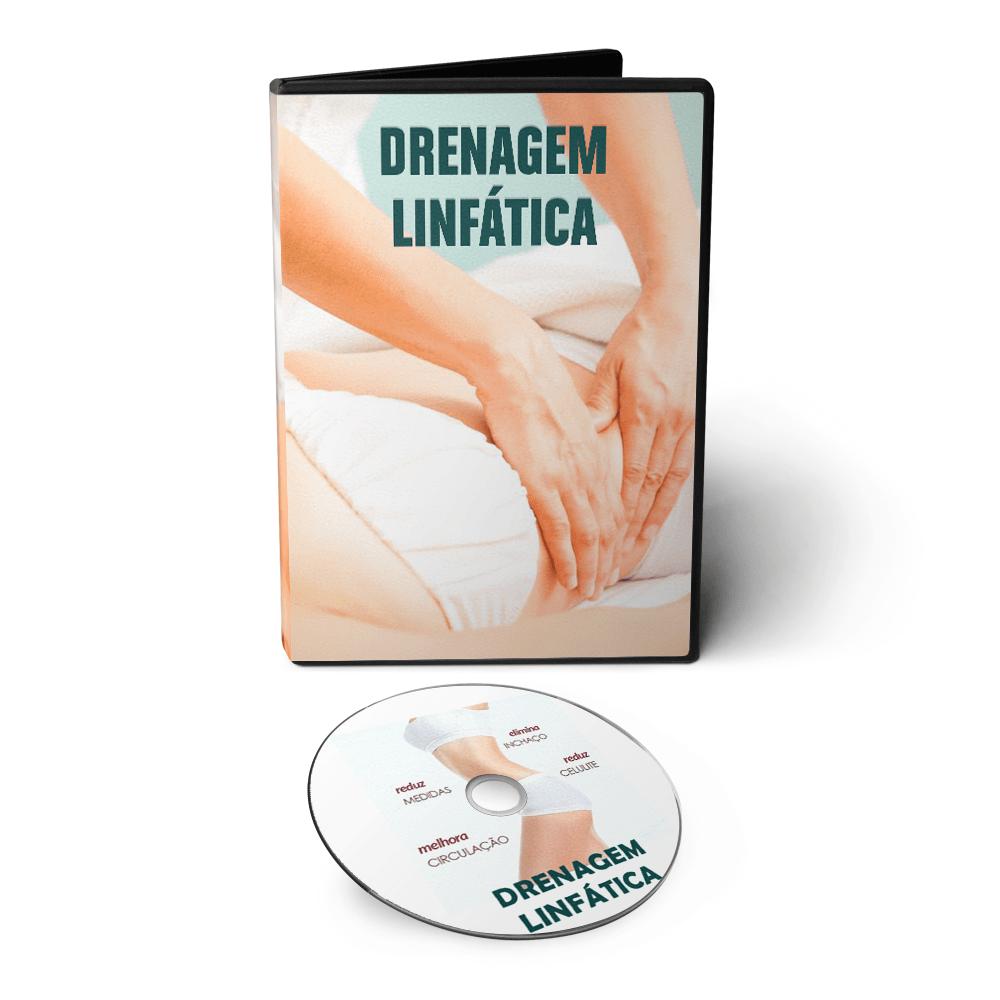 Curso de Drenagem Linfática Manual em DVD Videoaula