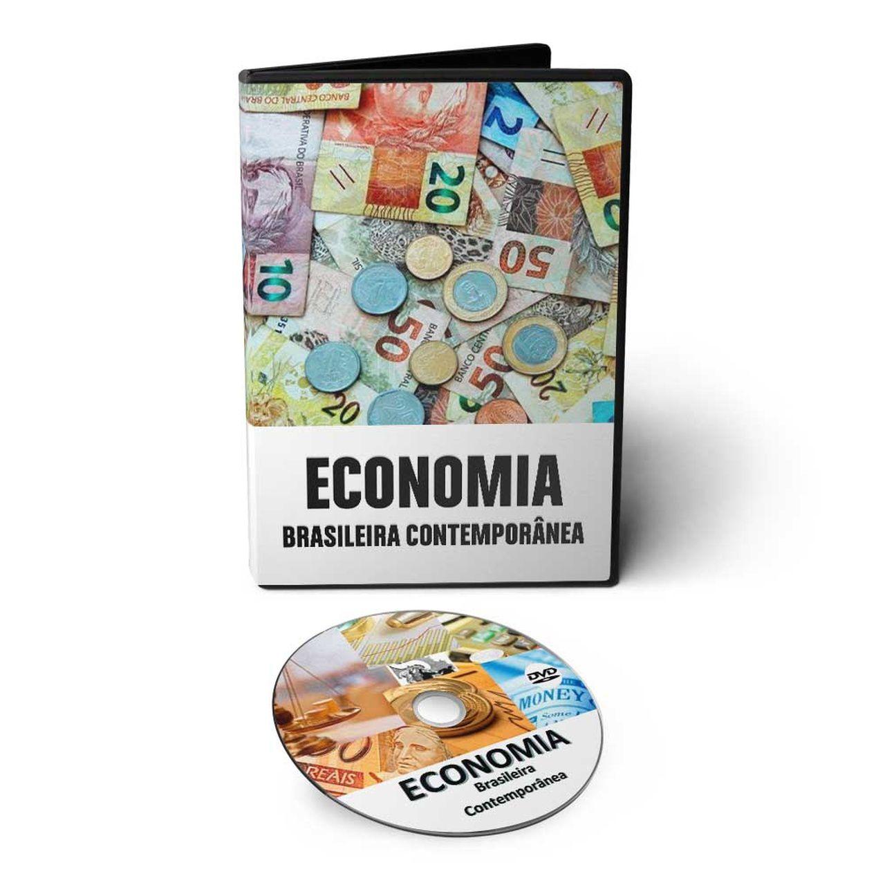 Curso de Economia Brasileira Contemporânea em DVD Videoaula