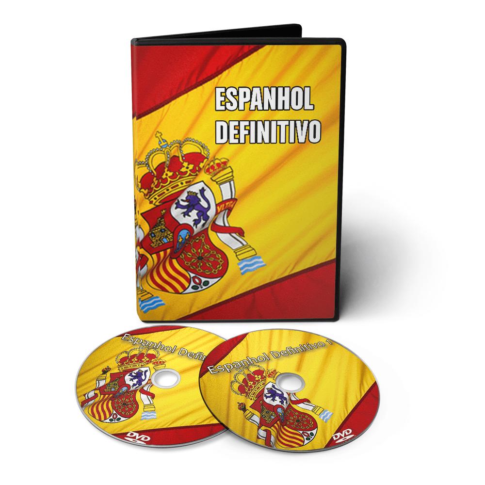 Curso de Espanhol Definitivo em 02 DVDs Videoaula