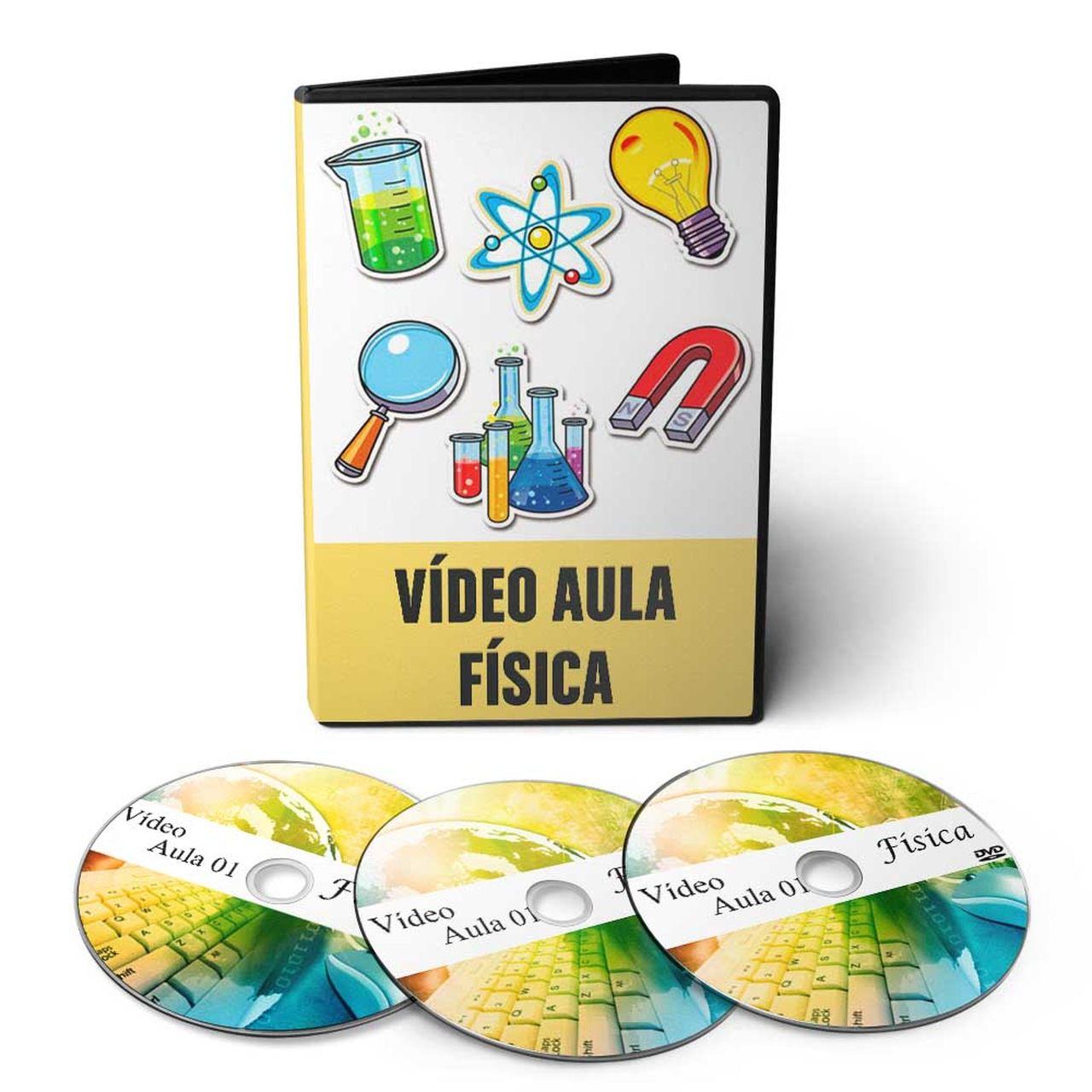 Curso de Física em 03 DVDs Videoaula + CD Interativo Leituras de Física