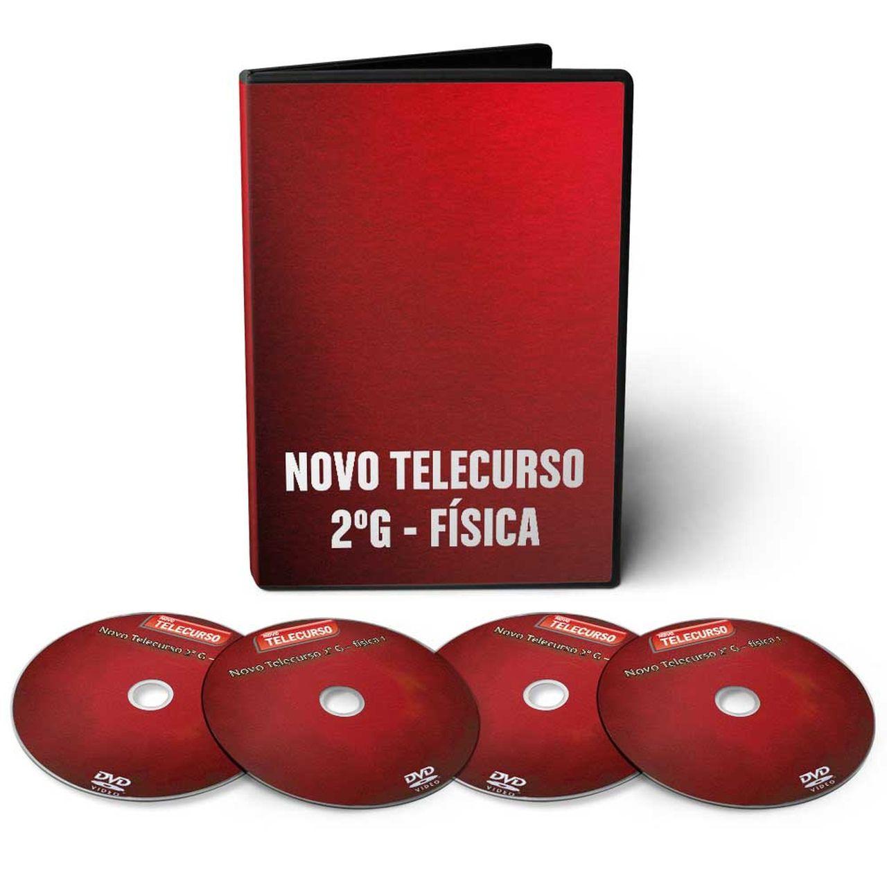 Curso de Física em 04 DVDs Videoaula + CD Interativo Leituras de Física  - Aprova Cursos